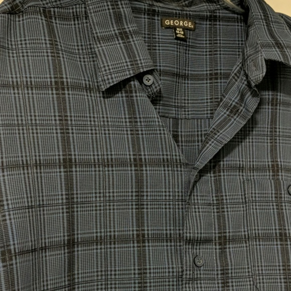George Other - Short Sleeve Light Weight Button Up